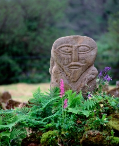 Janus Stone, Boa Island, Co. Fermanagh, Northern Ireland