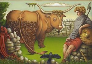 Cú_Chulainn_&_the_Bull